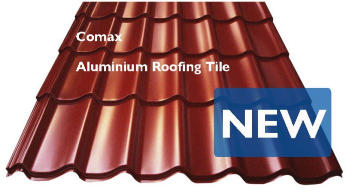 New Aluminium Tile From Comax Skyline Roofing