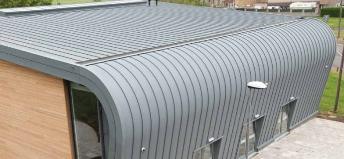 Vieo Zinc Standing Seam System A Simple Alternative To Metal Roof Walls Skyline Roofing