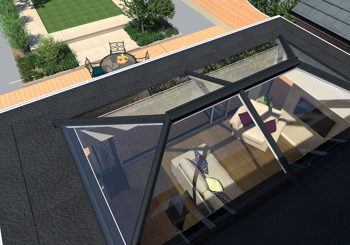 Create A Stunning Extension With An Ultrasky Lantern