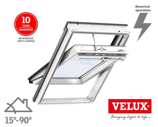 Velux integra roof window ggu electric polyurethane for Velux sun tunnel installation manual