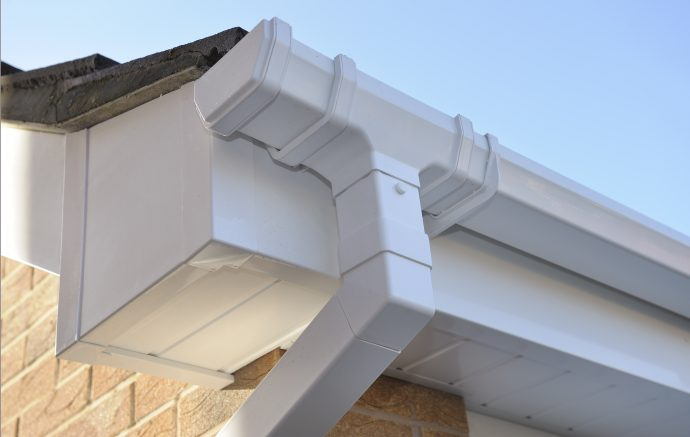Pvc U Gutter Systems Archives Skyline Roofing