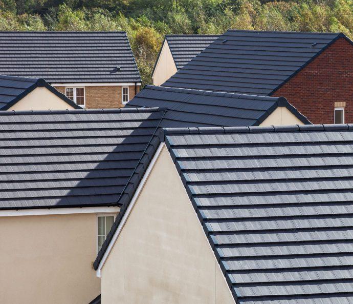 Marley Eternit Duo Modern Concrete Interlocking Tiles Skyline Roofing