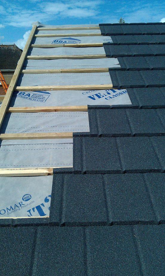 Britmet Lightweight Metal Slate 2000 Skyline Roofing