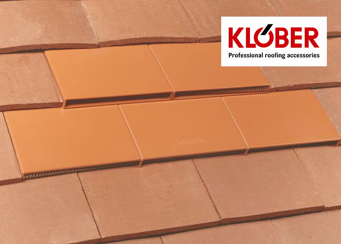 Klober Clay Plain Tile Vent Skyline Roofing