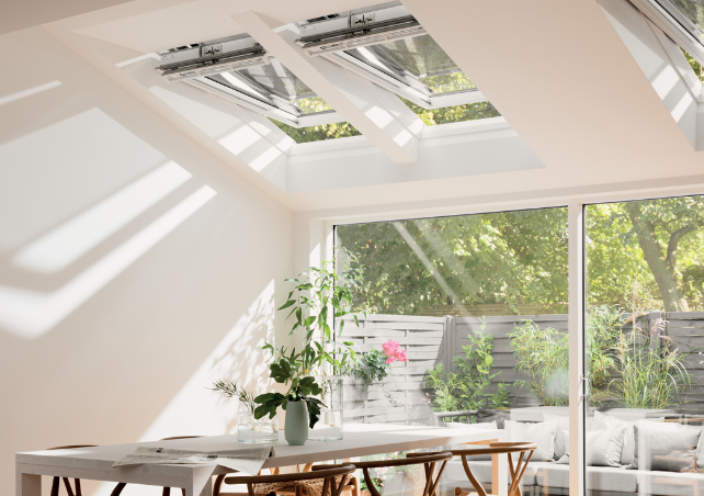 Velux Integra Electric And Solar Roof Windows Skyline