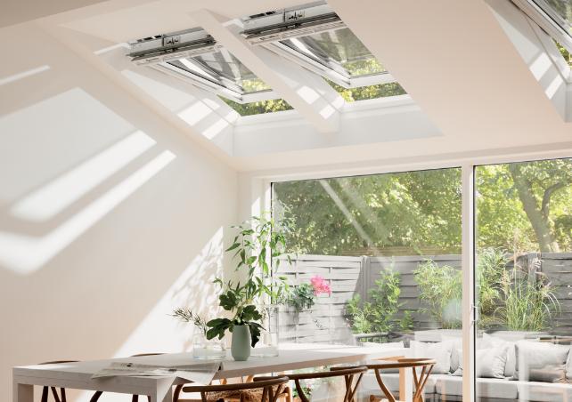 velux integra electric and solar roof windows skyline. Black Bedroom Furniture Sets. Home Design Ideas
